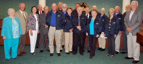 2011 VIA Blue Jacket Recipients