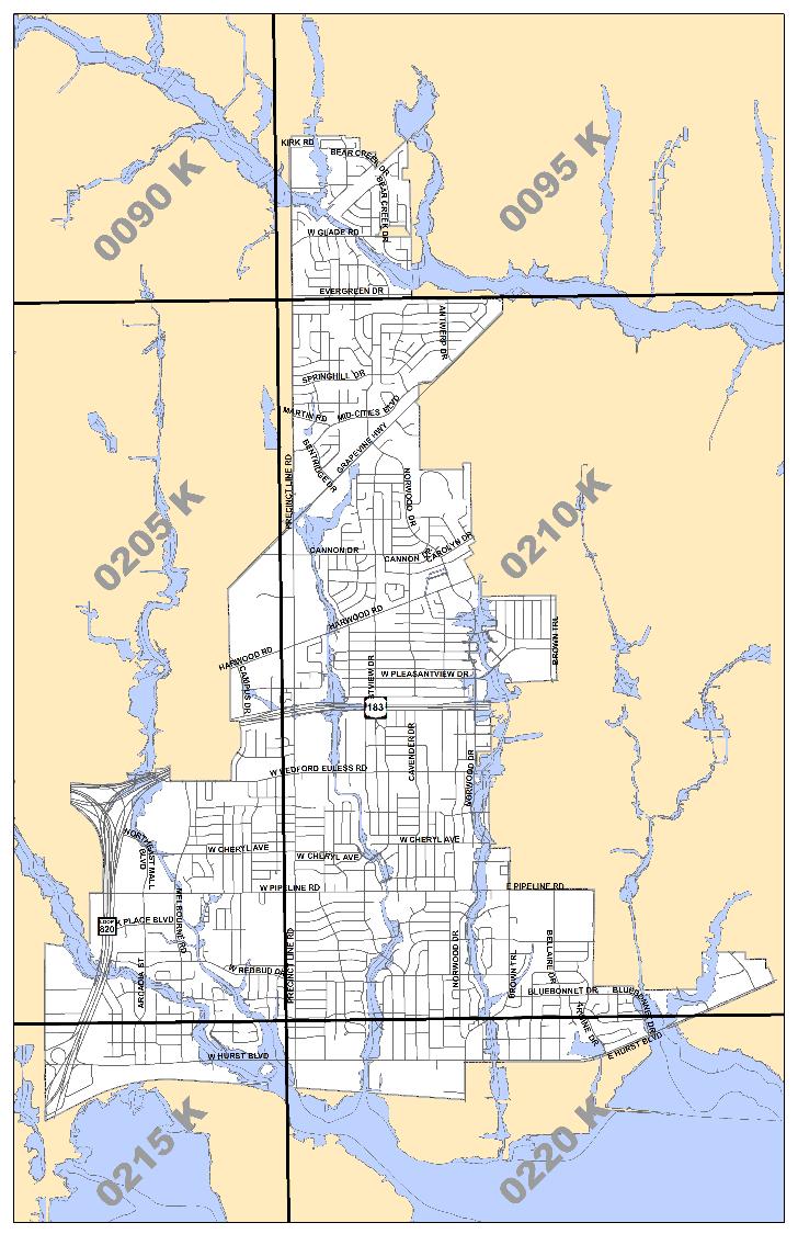 FEMA Maps City Of Hurst TX - Fema map viewer