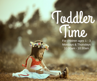 2017- Toddler Time - Online Calendar