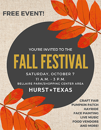 Fall Festival 2017 Save the Date