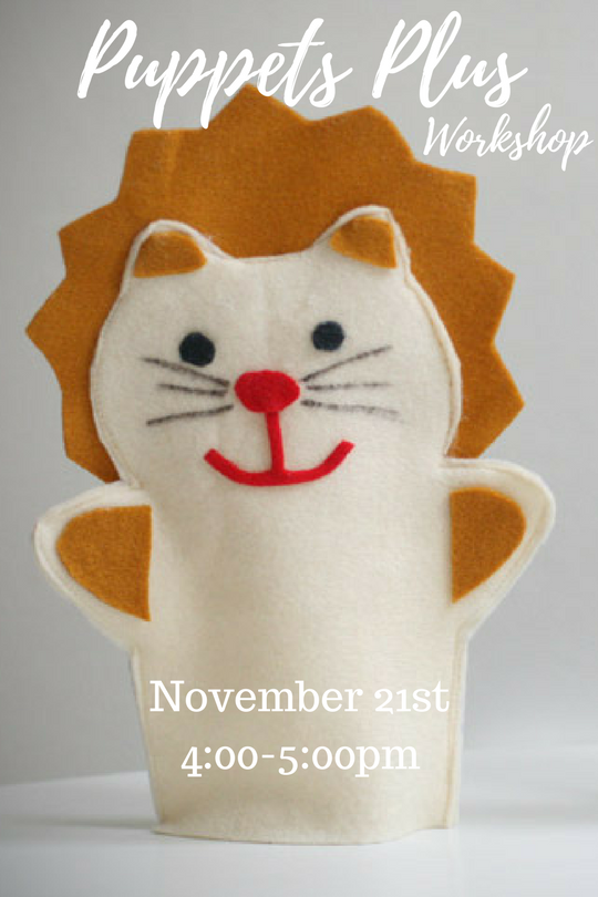11-21 - Puppets Plus Workshop - Online Calendar