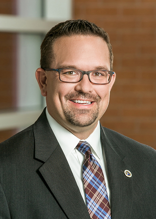 Clayton Fulton, Executive Director of Fiscal Services