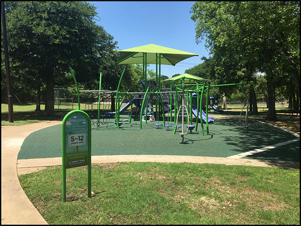 Jay C Baker Park image of playground equipment