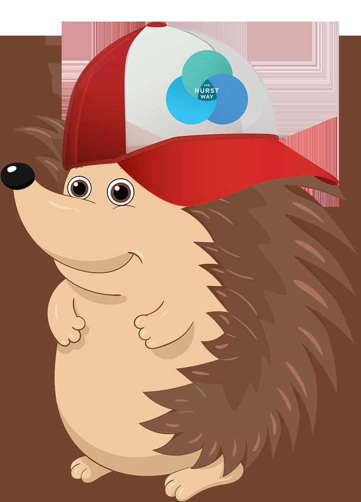 City of Hurst mascot, Spike, representing the Hurst Way
