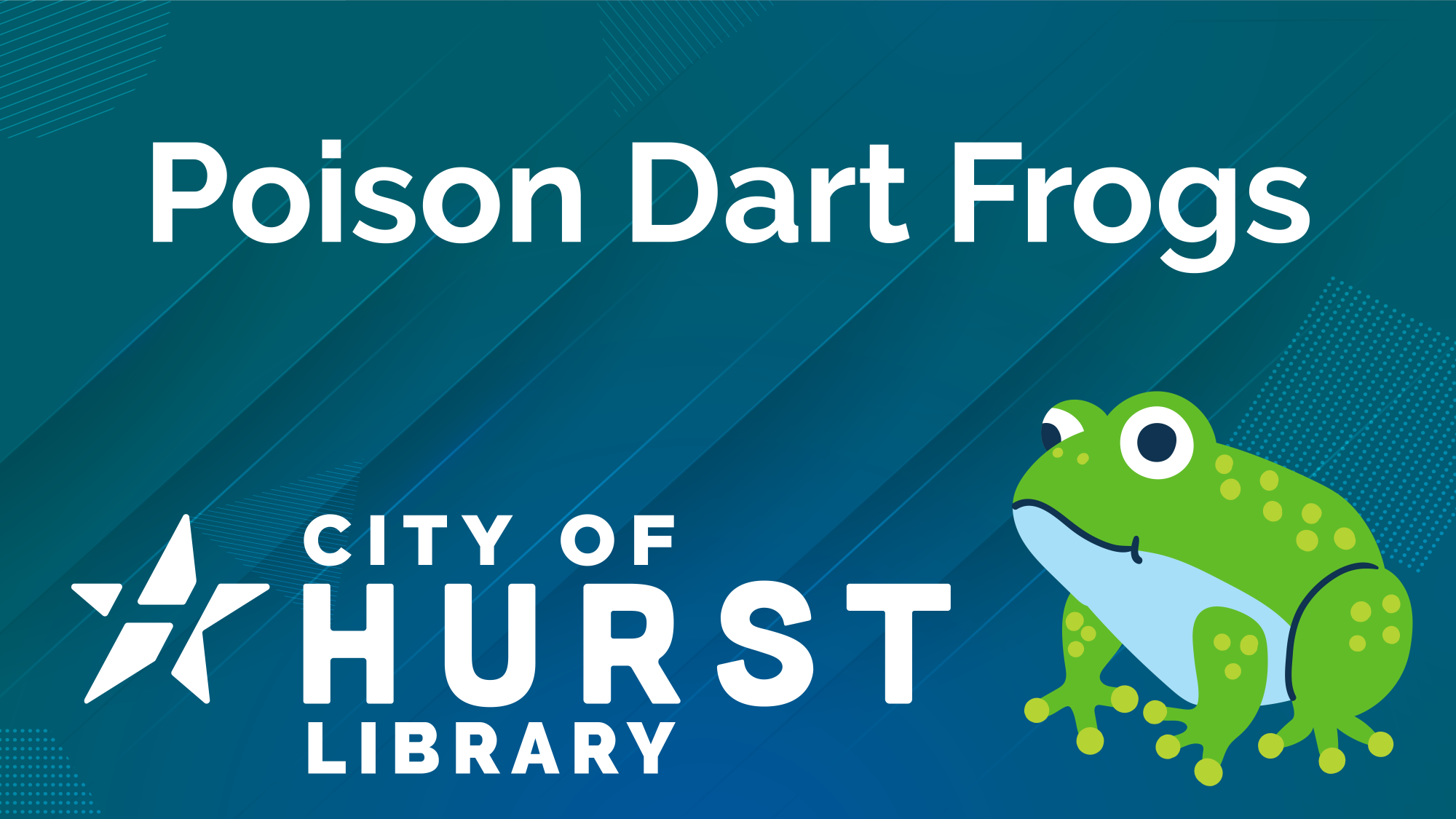Title Screen - Library Frogs