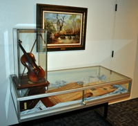 Historical Gallery at Hurst Public Library