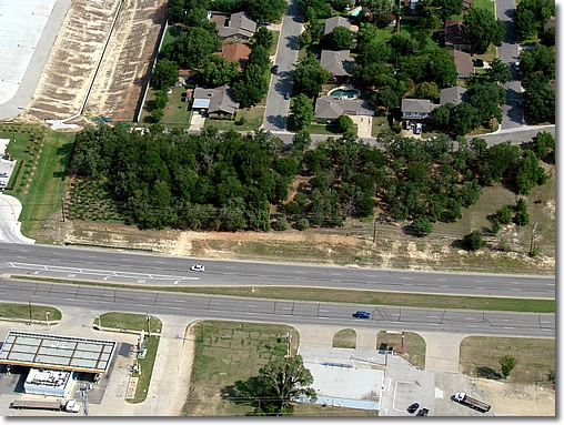Parker Cemetery aerial