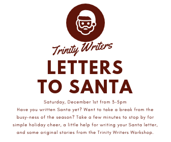 12-1 - Trinity Writers Letters to Santa - Online Calendar
