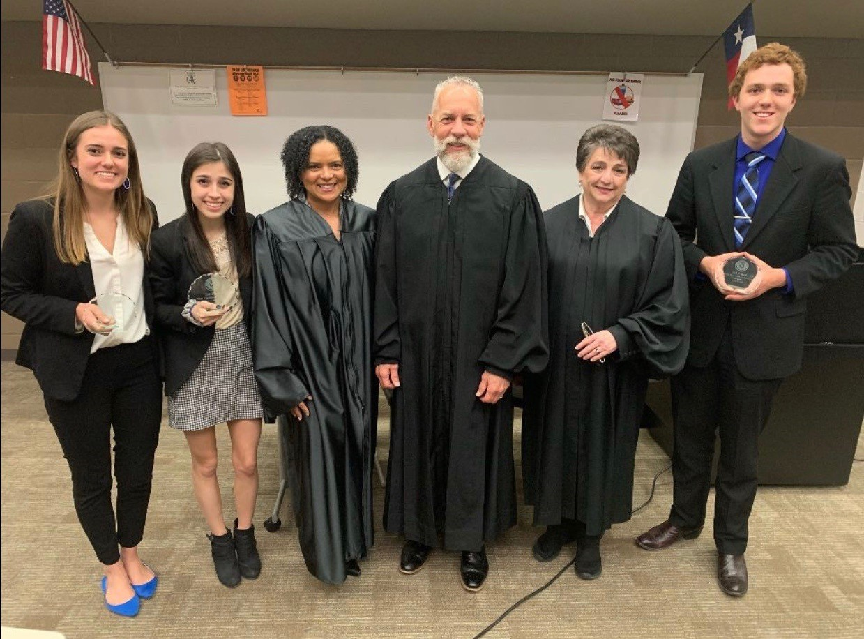 HEB Teen Court competition image