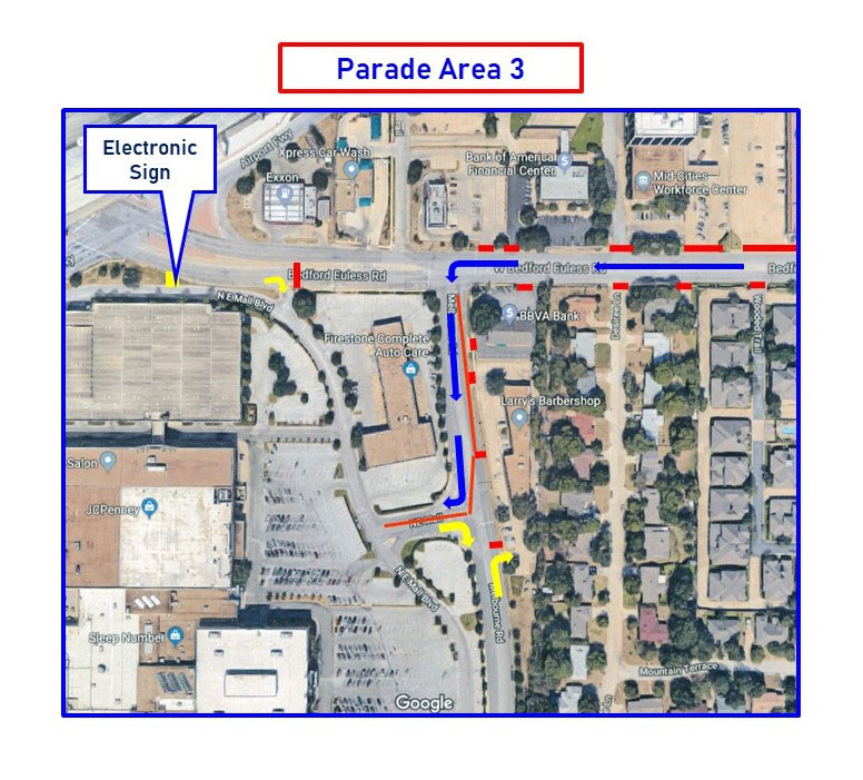 Parade area map 3