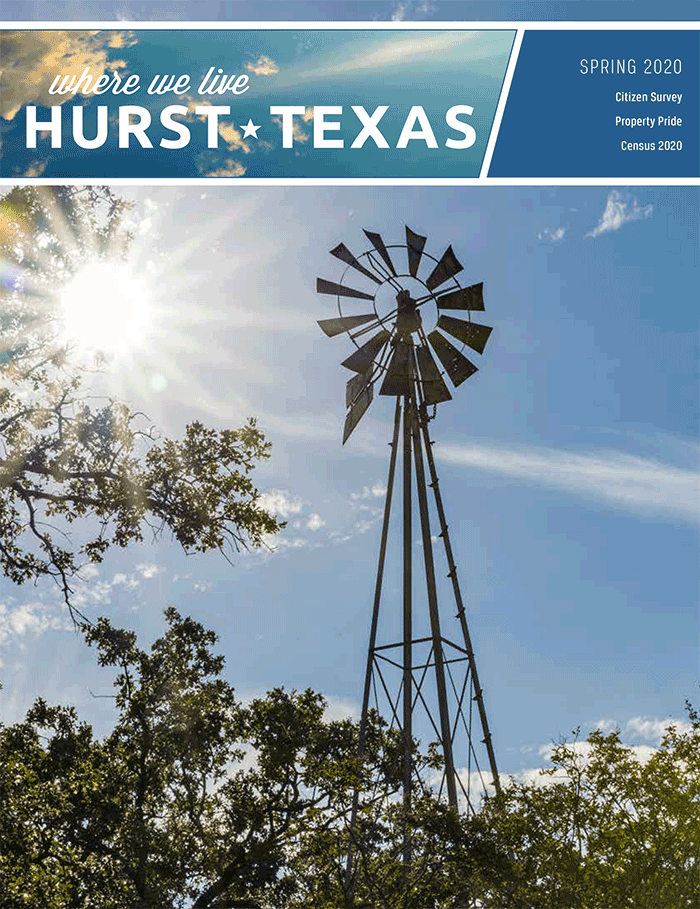 Spring 2020 Where We Live Magazine cover image, windmill