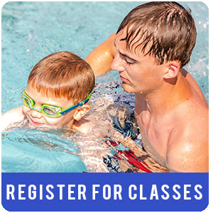 Learn to swim classes registration icon image